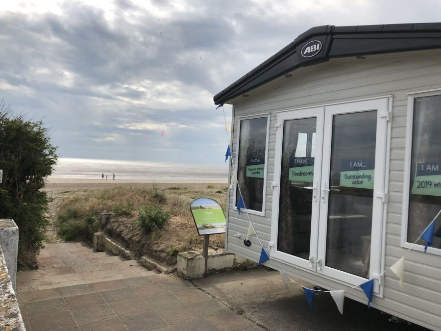 Image of Caravans For Sale In Kent Right On The Beach
